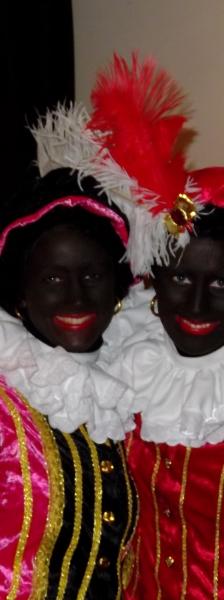 Zwarte pieten Rachelle Middelkoop