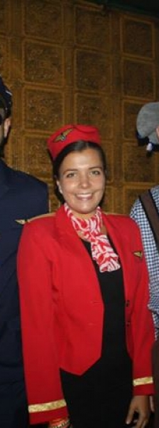 GA Party 2014 Stewardessen en piloot